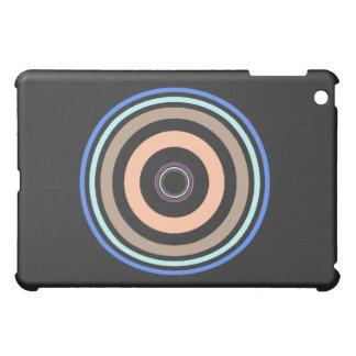 La circular de los círculos negros y coloreados mo