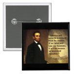 """La cita """"América de Abe Lincoln nunca estará… """" Pin"""