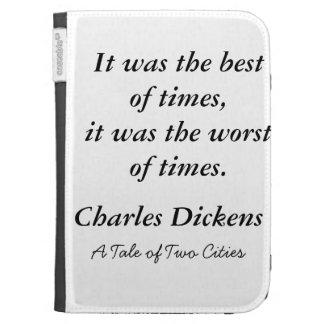 La cita de Dickens enciende la caja