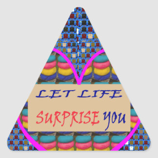 La cita de la sabiduría de la VENTA redacta los Pegatina Triangular