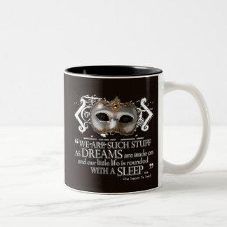La cita de la tempestad taza de café