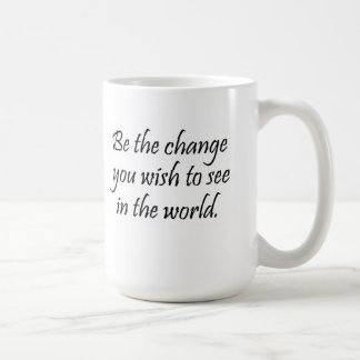 La cita de motivación de la taza de café asalta
