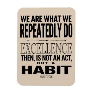 La cita de motivación el | de la tipografía elige iman flexible