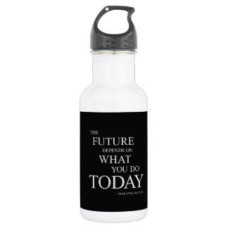 La cita de motivación inspirada futura