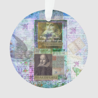 La cita de Shakespeare olvida y perdona con arte