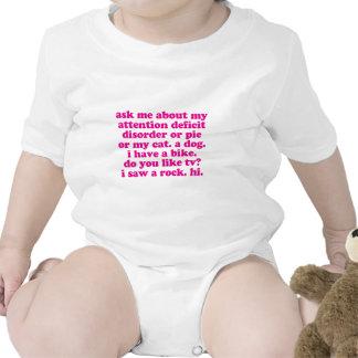 La cita del desorden de déficit de atención AÑADE Camiseta