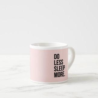 La cita divertida hace rosa inspirado menos anti taza espresso