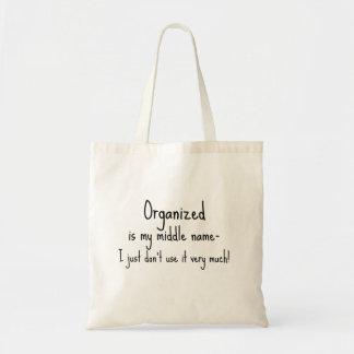 La cita divertida organiza bolsa tela barata