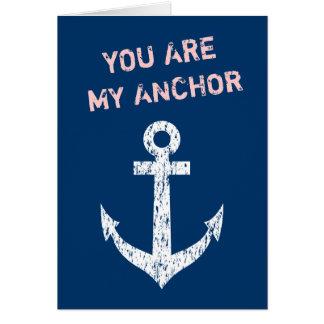 La cita náutica el | de la tarjeta de felicitación