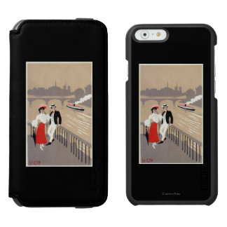 La Cite Art Deco Scene iPhone 6/6s Wallet Case