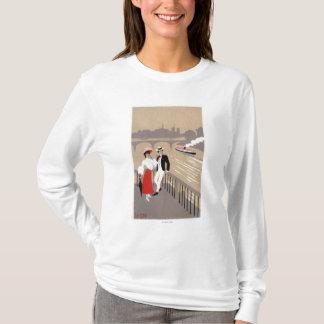 La Cite Art Deco Scene T-Shirt