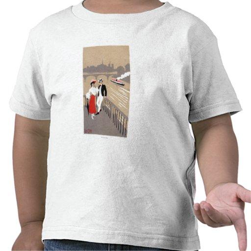 La Cite Art Deco Scene T Shirt