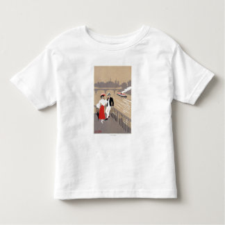La Cite Art Deco Scene Toddler T-shirt