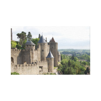 La Cite, Carcassonne Canvas Print