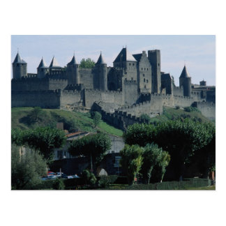 La Cite, Languedoc-Roussillon, Carcassonne, France Postcard