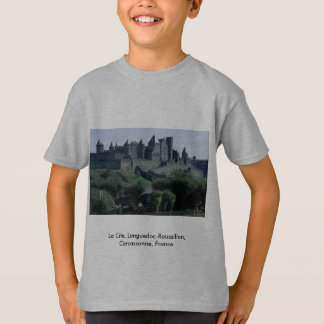 La Cite, Languedoc-Roussillon, Carcassonne, France T-Shirt