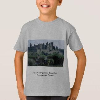 La Cite, Languedoc-Roussillon, Carcassonne, France T-Shirt