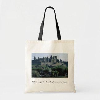 La Cite, Languedoc-Roussillon, Carcassonne, France Tote Bag