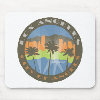 LA City of Angels Beachy Mouse Pad