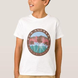 LA City of Angels Chocolate T-Shirt