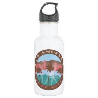 LA City of Angels Chocolate Water Bottle