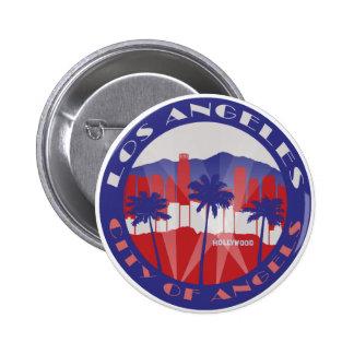 LA City of Angels Patriot Buttons
