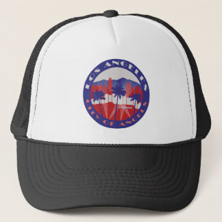 LA City of Angels Patriot Trucker Hat