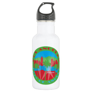 LA City of Angels Primary Water Bottle