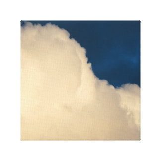 La ciudad adoptiva se nubla la lona 2 impresión en lona estirada