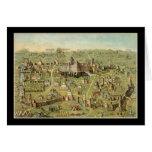 La ciudad antigua de Jerusalén Felicitación