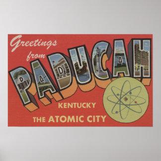 La ciudad atómica - escenas grandes de la letra poster