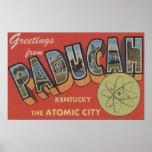 La ciudad atómica - escenas grandes de la letra póster