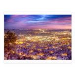 La ciudad céntrica de Boulder Colorado enciende sa Tarjetas Postales