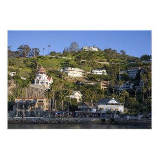 La ciudad de Avalon en la isla de Catalina, Fotografía