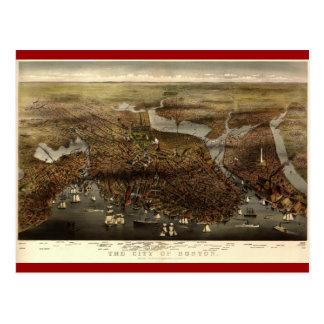 La ciudad de Boston 1873 Tarjetas Postales