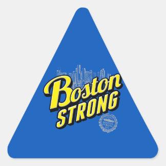 La ciudad de Boston fuerte recuerda Calcomanías Trianguladas