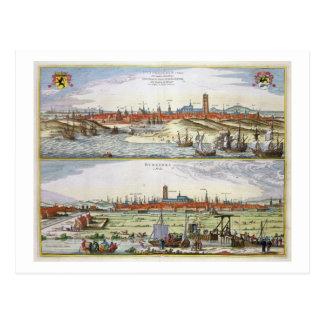 La ciudad de Dunkerque durante el empleo español, Postal