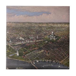 La ciudad de la C.C. de Washington a partir de 188 Azulejo