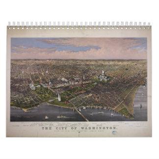 La ciudad de la C.C. de Washington a partir de 188 Calendarios