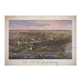 La ciudad de la C C de Washington a partir de 188 Impresion En Lona
