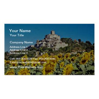 La ciudad de la colina de Narni, Umbría, Italia fl Tarjetas De Visita