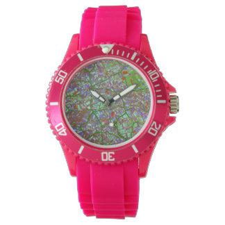 la ciudad de la fantasía traza 2 (c) reloj de mano