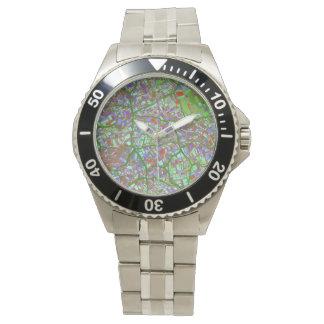 la ciudad de la fantasía traza 2 (c) relojes