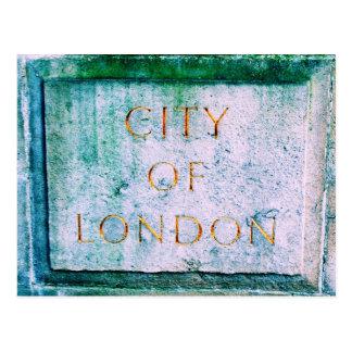 La ciudad de Londres Postales