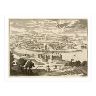 La ciudad de México, 1723 (grabado) Postal