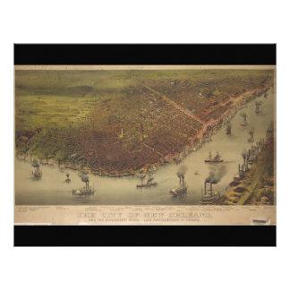 La ciudad de New Orleans Luisiana a partir de 1885
