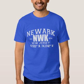 La ciudad de NEWARK incorporada coordina la Camisas