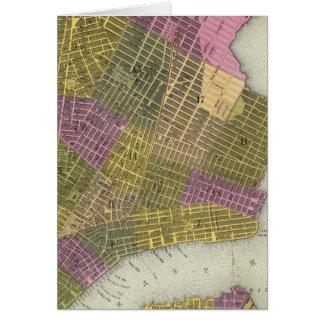La ciudad de Nueva York 2 Tarjeta De Felicitación