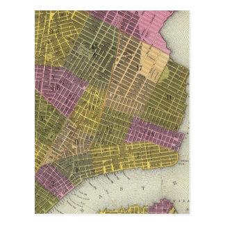 La ciudad de Nueva York 2 Tarjetas Postales