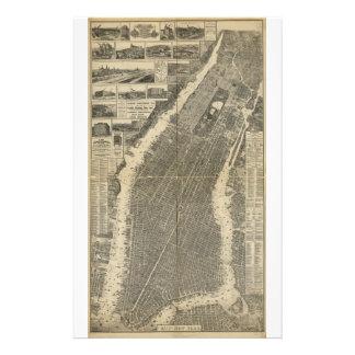 La ciudad de Nueva York cerca Taylor (1879) Papeleria De Diseño